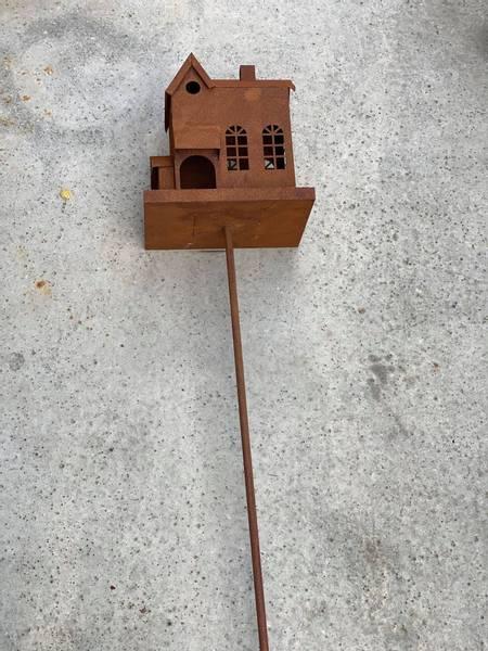 Fuglebrett på pinne, 140 cm