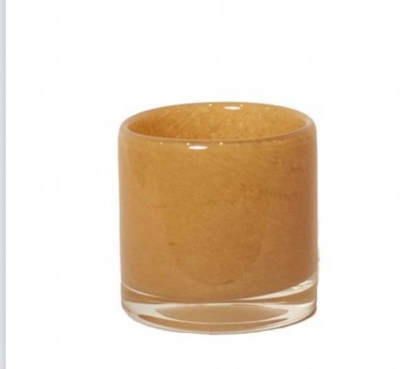 Lysholder, 8 cm gul